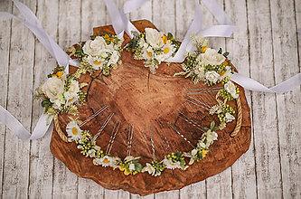 Náramky - Lúčny kvetinový náramok pre družičky - 12296631_