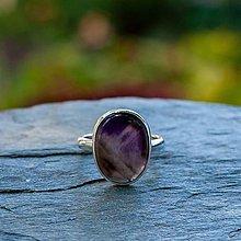 Prstene - Strieborný prsteň - Akvarel - 12299265_
