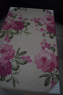 Úžitkový textil - UBRUS ...velké květy - 12297933_