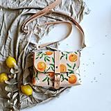 Kabelky - Kožená kabelka Hanna (oranges) - 12297629_