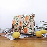 Kabelky - Kožená kabelka Hanna (oranges) - 12297630_