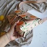 Kabelky - Kožená kabelka Hanna (oranges) - 12297631_