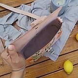 Kabelky - Kožená kabelka Hanna (oranges) - 12297632_