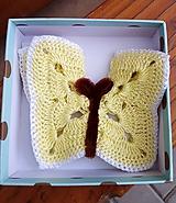 Detské doplnky - Ozdoba v tvare motýľa - 12296598_