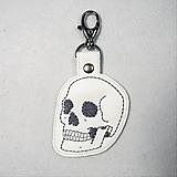 Kľúčenky - Kľúčenka lebka - 12299864_