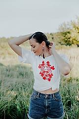 Tričká - tričko potlač Sága krásy - 12296717_