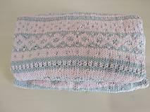 Detské oblečenie - Sivoružový romper s nórskym vzorom - 12296556_