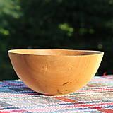 Nádoby - miska z dubového dreva - 12298695_