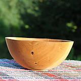 Nádoby - miska z dubového dreva - 12298696_