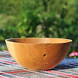 Nádoby - miska z dubového dreva - 12298697_