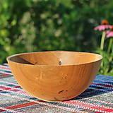 Nádoby - miska z dubového dreva - 12298698_