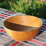 Nádoby - miska z dubového dreva - 12298699_