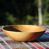 Nádoby - miska z dubového dreva - 12298713_