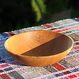 Nádoby - miska z dubového dreva - 12298714_