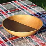 Nádoby - miska z dubového dreva - 12298716_