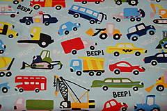 Textil - metráž autá - 12299743_