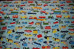 Textil - metráž autá - 12299748_