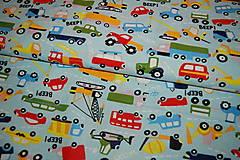 Textil - metráž autá - 12299794_