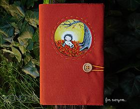 Papiernictvo - Kožuch/obal na knihu: jeseň - 12302689_