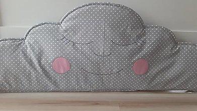 Textil - Obláčik do veľkej postele 90  x 35 cm - 12300156_