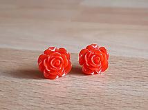 Náušnice - Ružičky napichovačky 14 (1,5cm) - 12299982_