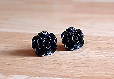 Náušnice - Ružičky napichovačky 15 (1,5cm) - 12299995_