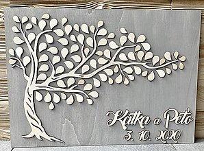 Obrazy - Svadobný strom - 12301833_