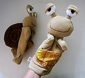 Hračky - Maňuška slimáčik - na objednávku - 12300272_
