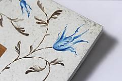 Rámiky - Ručne maľovaný rámček - Chinoizéria II - 12300889_