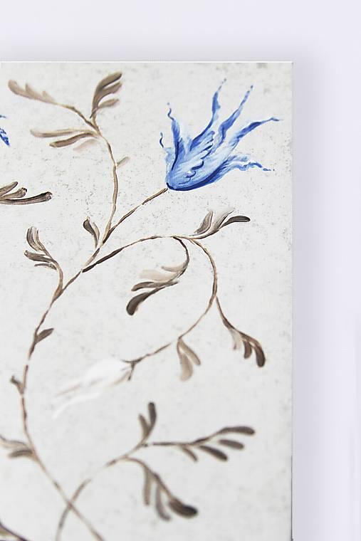 Ručne maľovaný rámček - Chinoizéria II