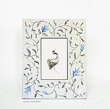 Rámiky - Ručne maľovaný rámček - Chinoizéria II - 12300399_