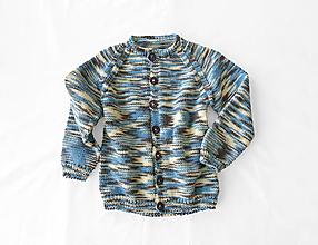 Detské oblečenie - Pletený detský sveter - 12302280_