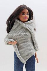 Pončo pre Barbie