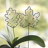 Dekorácie - list, zápich do kvetináčika - 12303699_