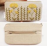 Peňaženky - Peňaženka - Lúčne kvety - 12304536_