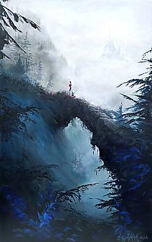 """Obrazy - """"Most"""" MAĽBA 100cm x 70cm - 12306224_"""