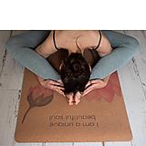 Nezaradené - Korková podložka na cvičenie - Lotusy - 12305536_