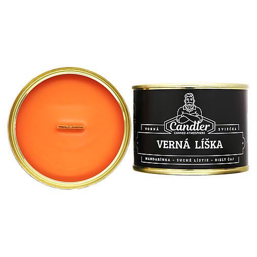 Sójová sviečka Verná líška, 140 g