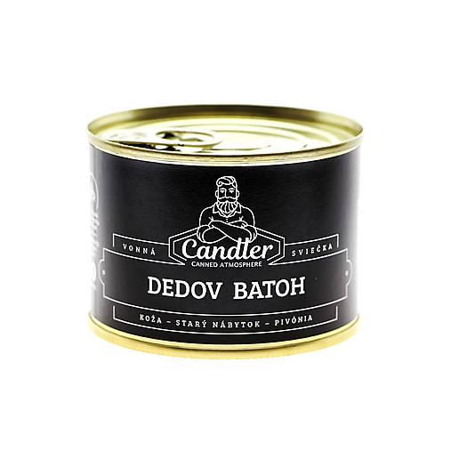Sójová sviečka Dedov batoh, 140 g
