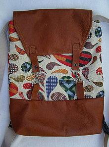 """Batohy - ruksačik """"slzičkový"""" - 12308423_"""