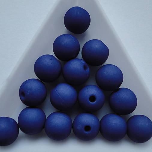 Plast MATT 10mm-10ks (modrá indigo)