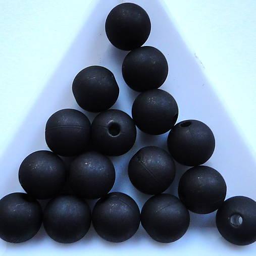 Plast MATT 10mm-10ks (čierna)