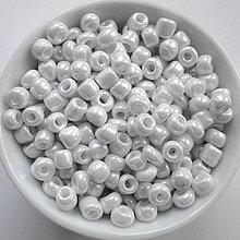 Korálky - Rokajl 4mm perleť-20g - 12307809_