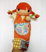 Hračky - Maňuška Pippi - 12307089_