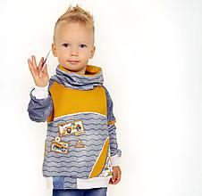 Detské oblečenie - Originálna mikina - 12307905_