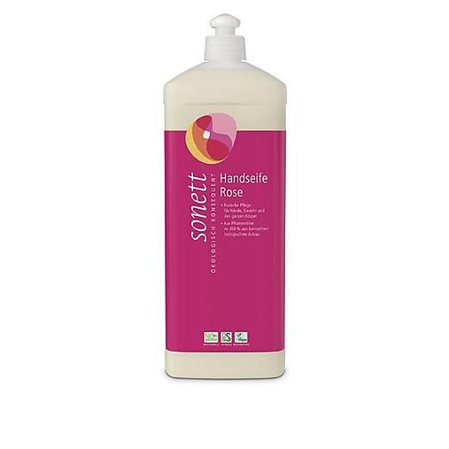 Tekuté prírodné mydlo Sonett - 1L (Tekuté prírodné mydlo Sonett - 1L ROSE)