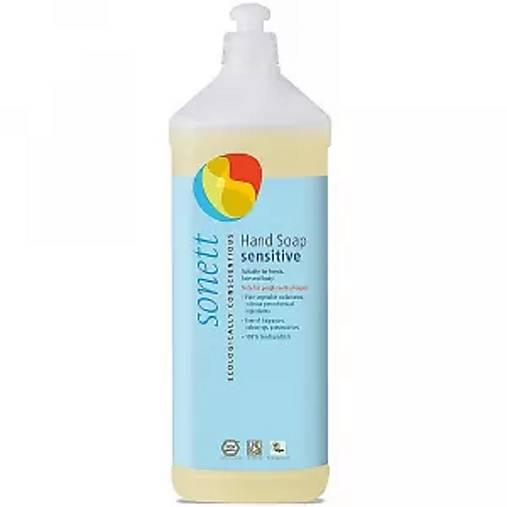 Tekuté prírodné mydlo Sonett - 1L (Tekuté prírodné mydlo Sonett - 1L Sensitive)