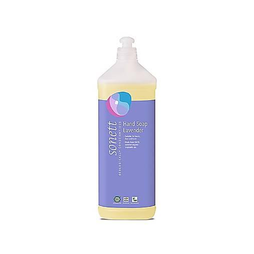 Tekuté prírodné mydlo Sonett - 1L (Tekuté prírodné mydlo Sonett - 1L Levanduľa)