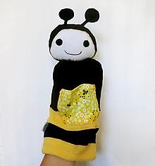 Hračky - Maňuška včielka  - 12309307_