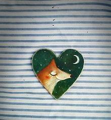 Odznaky/Brošne - Brošuľka s líškou - 12310474_